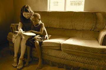 Reading with Sandra